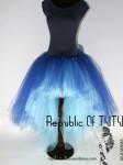 Tutu Albastru cu trena Belle Epoque 5 Republic of Tutu